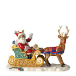 Royal Doulton Bunnykins - Dashing Through the Snow DB422